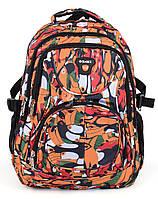 Рюкзак спортивный ортопедический с принтом птицы Ormi, Разноцветный