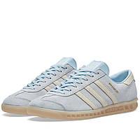 Оригинальные  кроссовки Adidas Women's Hamburg W Ice Blue & Gum