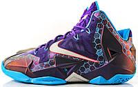 Баскетбольные кроссовки Nike LeBron 11 Summit Lake Hornets, найк леброн