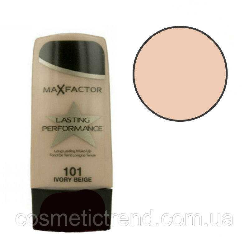 Тон для лица Max Factor Lasting Perfomance 30 ml #101 Ivory Beige