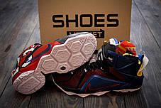 Мужские кроссовки Nike LeBron 12 What the LeBron 802193-909, Найк Леброн, фото 3