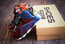 Мужские кроссовки Nike LeBron 12 What the LeBron 802193-909, Найк Леброн, фото 2