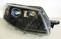 Skoda Octavia A7 оптика передняя тюнинг с ДХО / headlights DRL