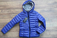Теплая куртка на синтепоне для девочек 158 рост