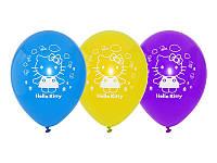 """Воздушные шары """"Hello Kitty"""" 12""""(30 см) aссорти пастель. В упак: 50 шт."""