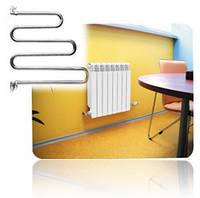 Установка батарей отопления в штатное место без подгонки труб и установки кранов