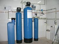 Установка фильтрующей колонны ( умягчение ;комплексная очистка воды ; удаление неприятного запаха воды)