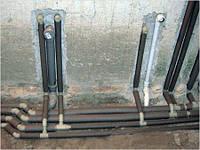 Штробление стен бетонных под трубы