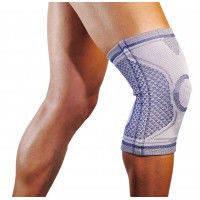 Бандаж коленного сустава Алком 3023 Comfort 2-3 размер Бандаж колінного суглоба Comfort