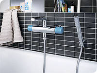 Установка смесителя (с душем) на ванну