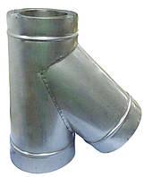 Тройник термоизолированный 45°