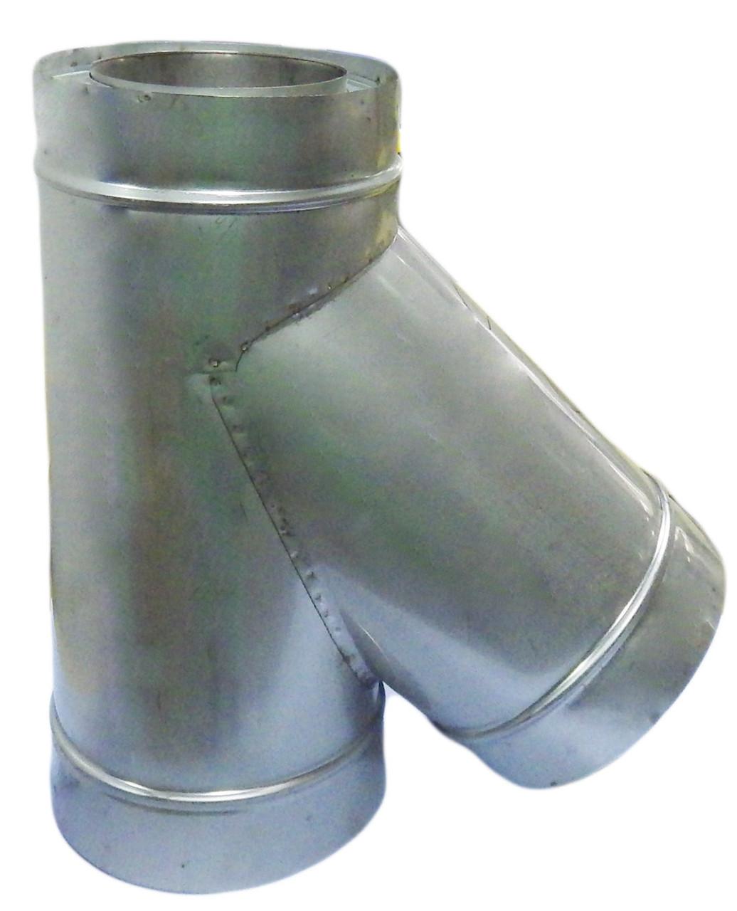 Тройник термоизолированный 45° - Ваш Комин в Ужгороде