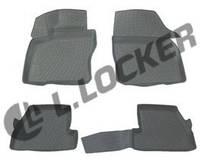 Коврики в салон Ford Focus III (11-) 3D, Lada Locker