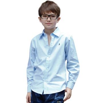 Школьные рубашки оптом с длинным рукавом для мальчиков в магазине Малява