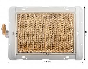 Газовый инфрокрасный обогреватель керамический Vita GP-2000