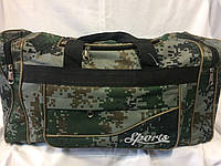 Пиксельная дорожная мужская сумка
