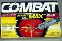 Инсектицид Combat / Комбат шприц-гель (30 мл) - средство от тараканов и муравьёв