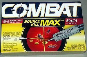 Инсектицид Combat / Комбат шприц-гель (30 мл) - средство от тараканов и муравьёв, фото 2