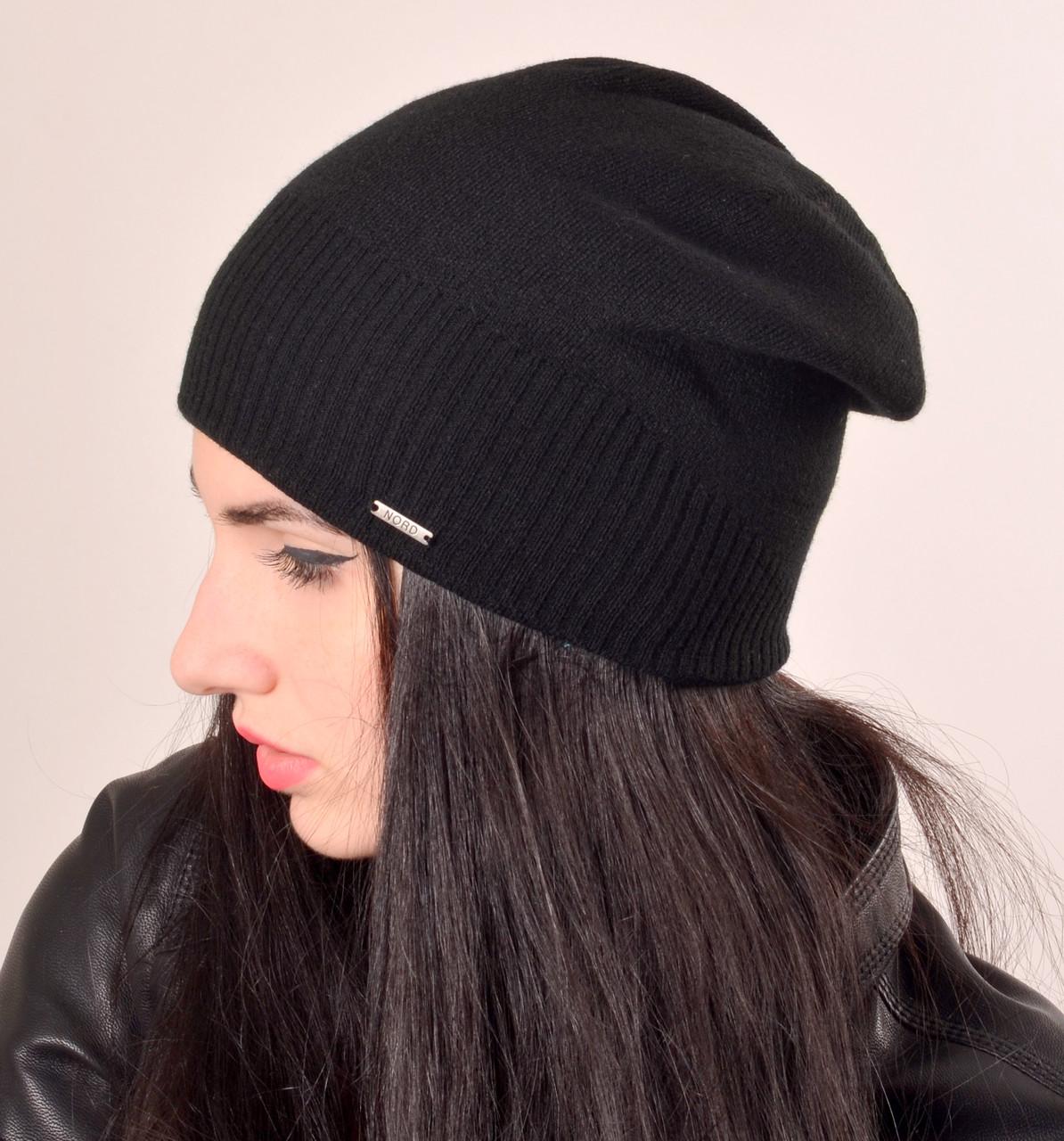 Женская шапка на флисе. Модель Levs, фото 1
