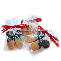 Печенье с предсказаниями «Микки Маус», в шоколадной глазури, от 25 шт.