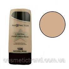 Тон для обличчя стійкий Max Factor Lasting Perfomance 30 ml #106 Natural Beige