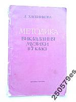 Л.Хлєбникова Методика викладання музики в 7 класі