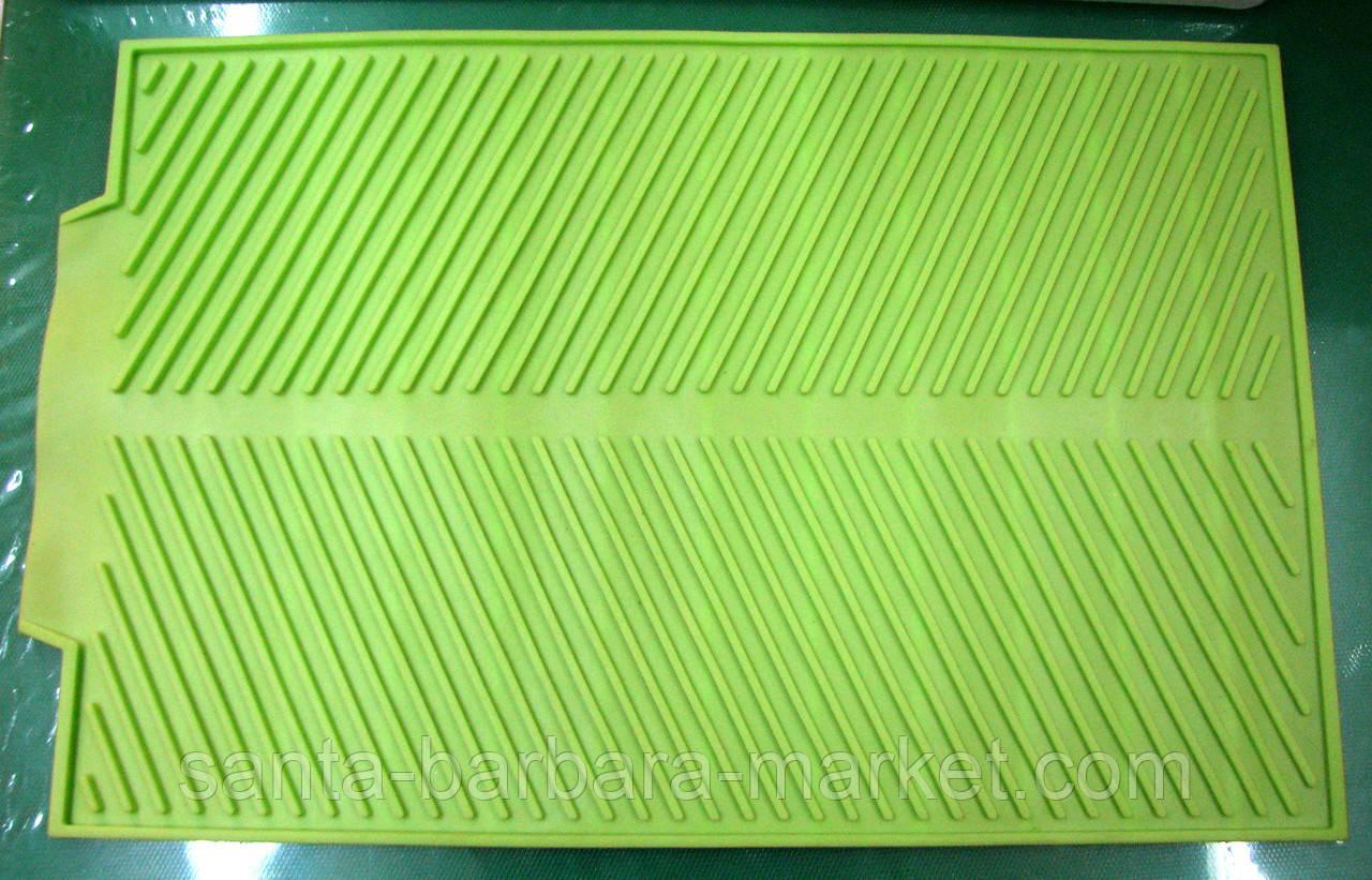 Коврик силиконовый для сушки посуды 25х39см
