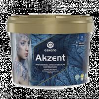 Особопрочная aнтибактериальная краска Akzent Eskaro 0,9л –  для внутренних работ