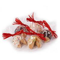 Печенье с предсказаниями «Дольче Вита», в шоколадной глазури, от 50 шт.