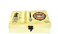 Оригинальная шкатулка для рукоделия в стиле Прованс, фото 1