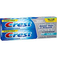 Зубная паста Crest Baking Soda & Peroxide Whitenin - интенсивная отбеливающая зубная паста (2шт/уп, 362г), фото 1