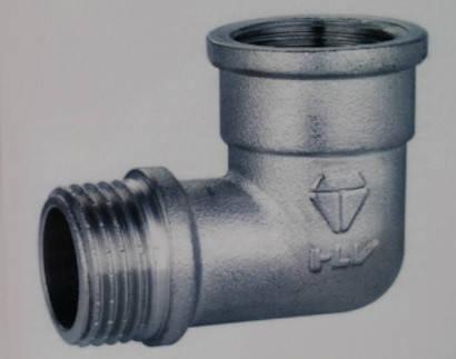Латунный угольник HLV внутренняя- наружная резьба, фото 2