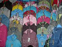 Куртки на флисе с синтепоном,  цвета разные