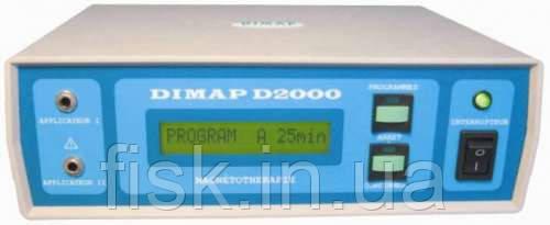 DIMAP D2000 аппарат для импульсной магнитотерапии двухканальный, фото 1