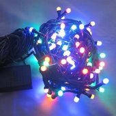 Новогодняя гирлянда multi на 50 ламп, 5 метров
