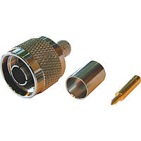 Разъем ВЧ N-типа N-111F для кабеля RG58 (обжимной)