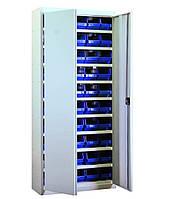Шкаф инструментальный для контейнеров ЯШМ-14 с кюветами (50 шт.)