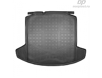 Коврик в багажник Skoda Rapid (NH) HB (13-) полиур. (NORPLAST)