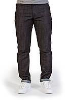 Джинсы White Sand Black Jeans черные с лого, фото 1