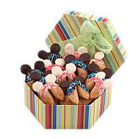 Печенье с предсказаниями «Микки Маус», в шоколадной глазури, 21 шт. в наборе