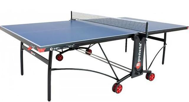 Стол теннисный Sponeta S3-87i(черный)