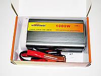 Прибор для преобразования электричества. Инвертор 12-220V 1000W. Высокое качество. Практичный. Код: КДН832
