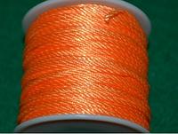 Капроновый шнур 3 мм  оранжевый  20167