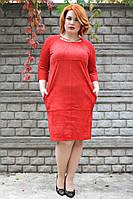 Платье Мишель (2 цвета), платье большого размера, платье от производителя, дропшиппинг