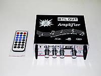 Усилитель Звука YT-326A FM USB 2x200 Вт. Высокое качество. Светодиодный дисплей. Купить онлайн. Код: КДН834