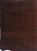 Полотенце махровое сауна 100х150 100% хлопок разные цвета 150.0, Банное, 400.0, Нет, Нет, Узбекистан, 100, Темно-коричневый, 100.0