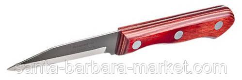 """Нож """"Tramontina"""" COLORADO овощной 76мм (с красной ручкой)  21428/073"""