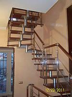 Лестницы из нержавеющей стали, фото 1
