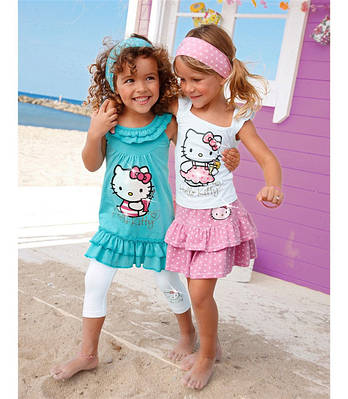 Дитячі комплекти літнього одягу