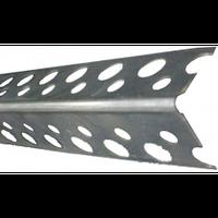 Уголок алюминиевый перфорированный (3м)